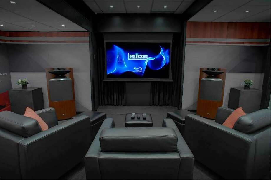 Featuring one audiophile display room and one fully functioning home theater display, Harman's Mobile Showroom has been touring the country  showcasing its high performance technologies to audiophiles, enthusiasts and dealers. This week, the showcase will be making a stop at the Harman International headquarters in Stamford, displaying its award-winning products from Revel, Mark Levinson, Lexicon, and JBL Synthesis.  In creating the mobile showroom, Harman worked closely with custom installation firms and contacted architects and interior design professionals to ensure that each display represents the pinnacle of both AV performance and aesthetic design. Photo: Contributed Photo / Stamford Advocate Contributed