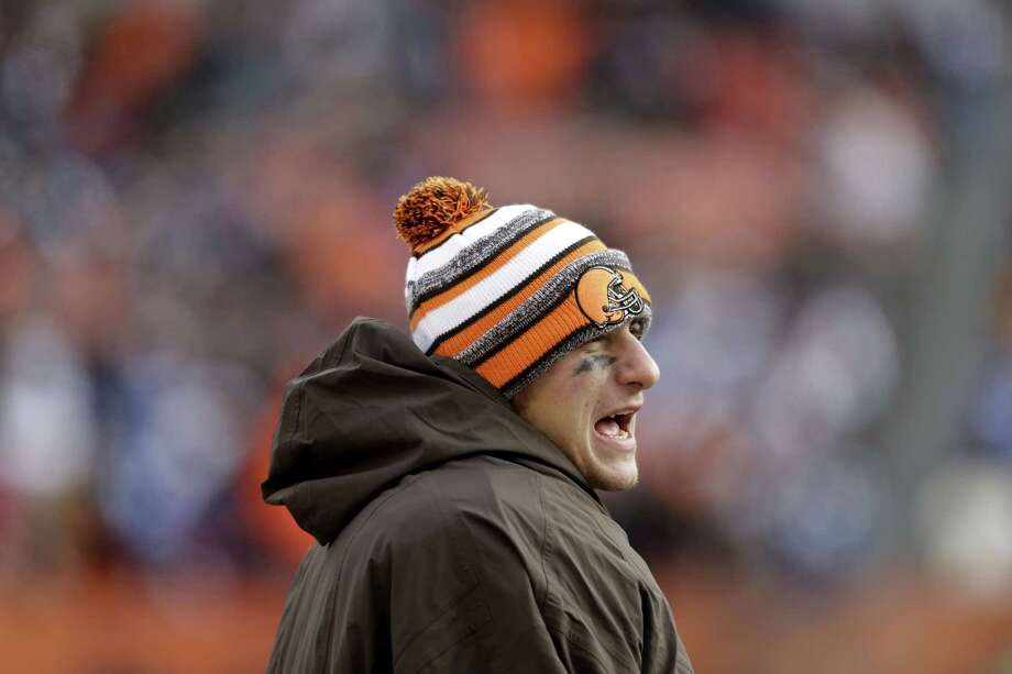 Cleveland Browns quarterback Johnny Manziel will start on Sunday against the Bengals. Photo: Tony Dejak — The Associated Press  / AP