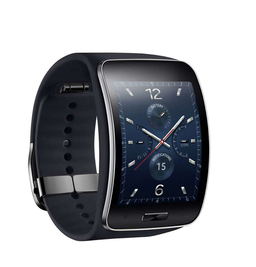This undated product image provided by Samsung shows the Gear S watch. Photo: The Associated Press — Samsung  / Samsung