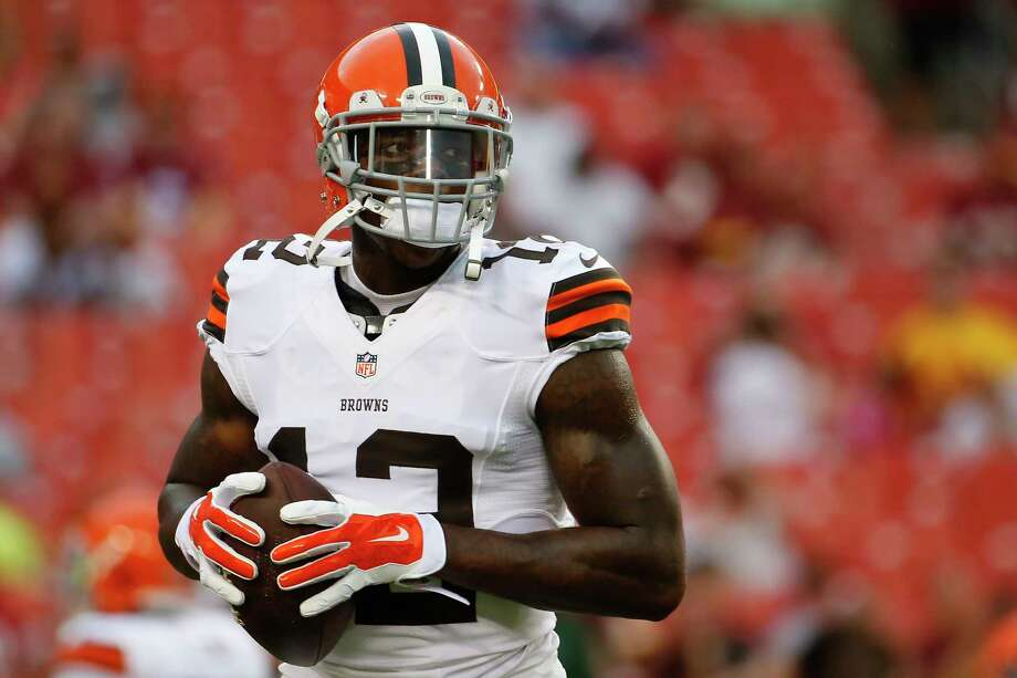 Cleveland Browns wide receiver Josh Gordon has been suspended by the NFL one year for violating the league's substance abuse policy. Gordon's suspension is effective immediately and he will miss the entire 2014 season. Photo: Evan Vucci — The Associated Press File Photo  / AP