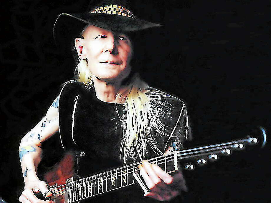 Contributed Johnny Winter Photo: Journal Register Co.