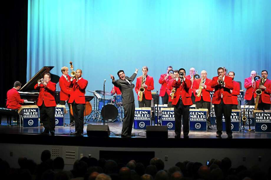 Submitted photo The Glenn Miller Orchestra performs at the Warner Theatre Sunday afternoon. Photo: Journal Register Co.