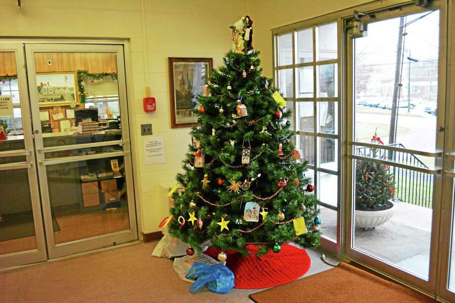 The Angel Tree at town hall is right outside the town clerk's office on 74 West St., Litchfield. Photo: Ryan Flynn — Register Citizen