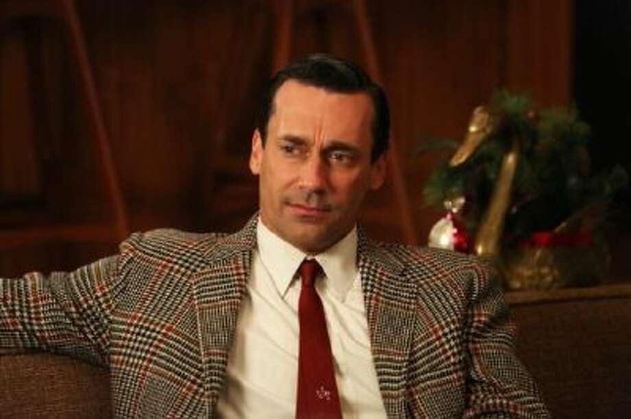 """Jon Hamm as Don Draper in a scene from """"Mad Men,"""" Season 6, a drag of a season that threatened to drive viewers away."""