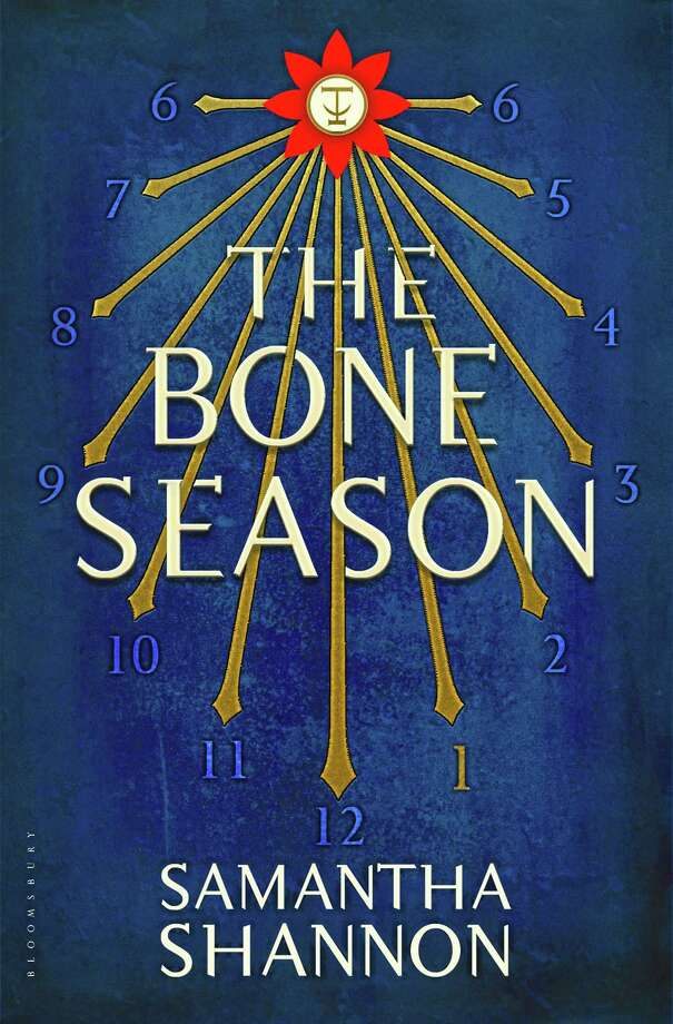 "This book cover image released by Bloomsbury USA shows ""The Bone Season,"" by Samantha Shannon. NBC's ""Today"" show is investing in readers. The morning program announced Tuesday that it is starting a book club. Its first club pick is ""The Bone Season,"" the debut novel by 21-year-old Samantha Shannon. It's the first in a planned seven-part series set in a dystopian futuristic London to be published by Bloomsbury. (AP Photo/Bloomsbury USA) Photo: AP / Bloomsbury USA"