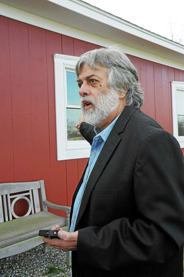File photo by Laurie Gaboardi ¬ Frederick Acker at his premises in Bethlehem in November 2012. Photo: Journal Register Co.