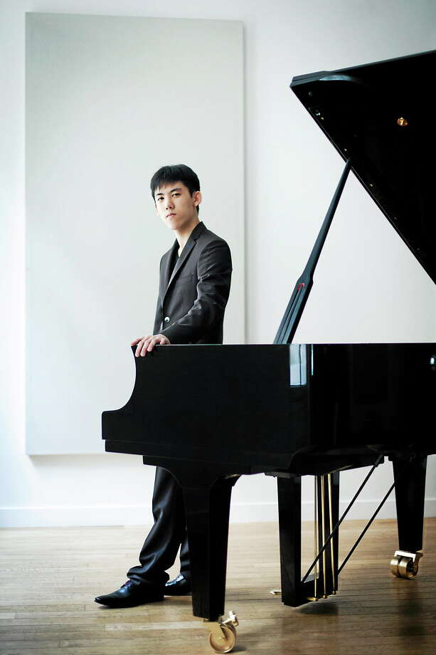 Submitted photo - Music Mountain  Haochen Zhang, pianist, is performing at Music Mountain in September. Photo: Journal Register Co. / Benjamin Ealovega 2012