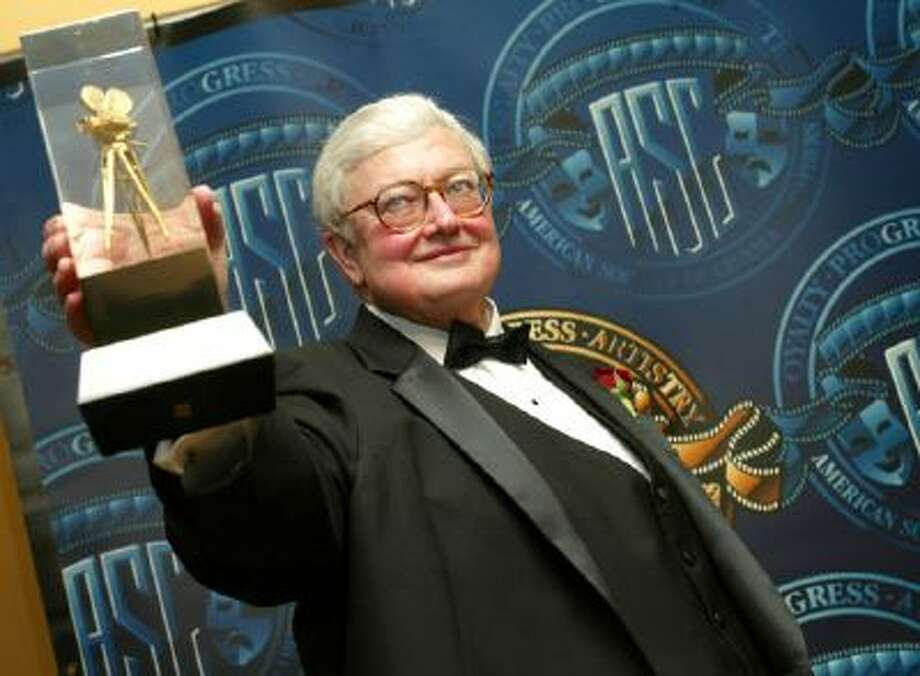 Film Critic Roger Ebert, shown here in 2003, was among those who died in 2013.