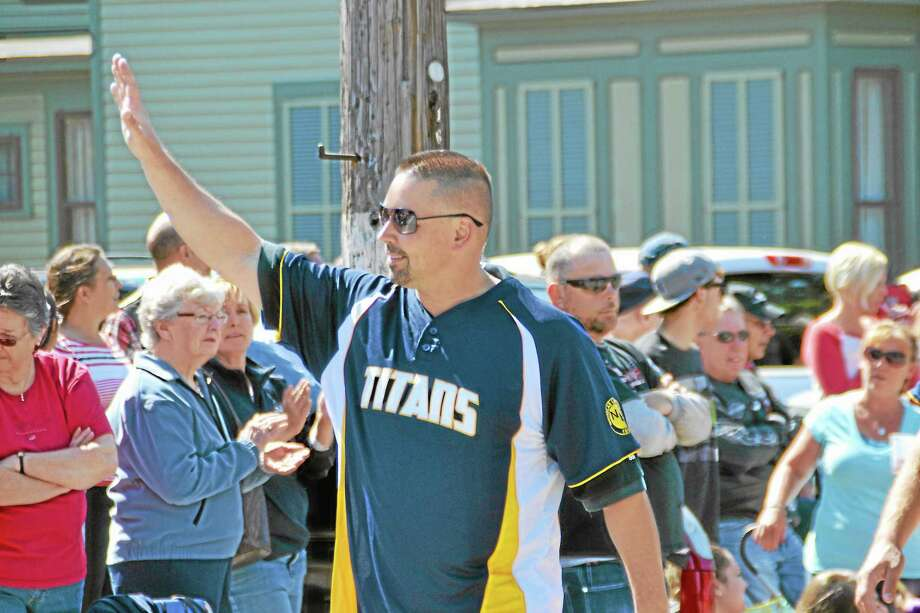 Ed Gadomski who is currently the general manager of the Torrington Titans and the commisoner of the Tri-State League is one of the eight players to be inducted into the Hall of Fame. Photo: Pete Paguaga—Register Citizen