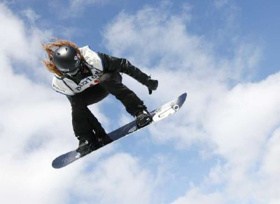 U.S. snowboarder Shaun White has debuted a new trick he hopes to showcase to the world at the Sochi Olympics.
