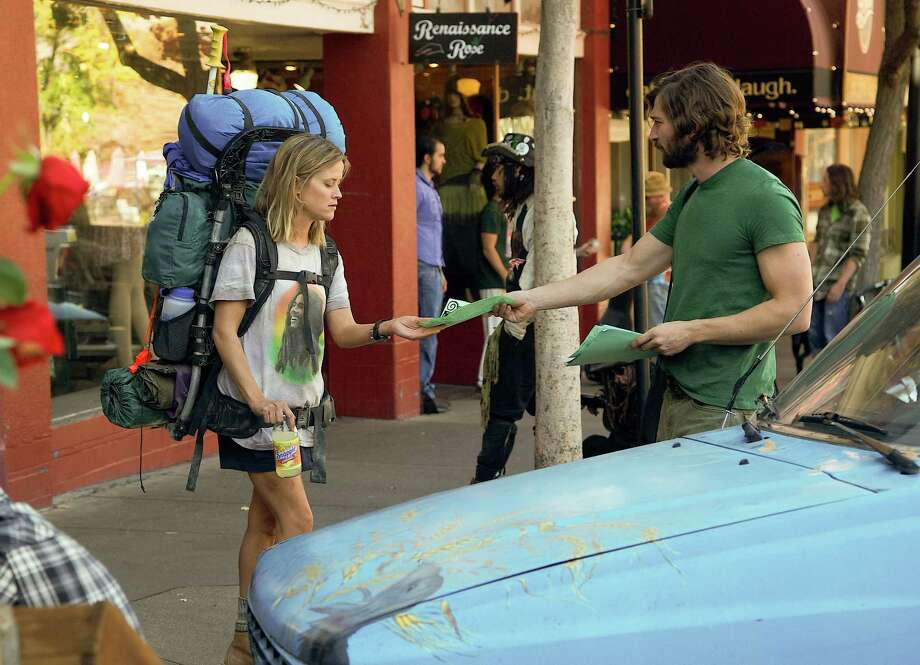 """This image released by Fox Searchlight Pictures shows Reese Witherspoon, left, and Michiel Huisman in a scene from the film, """"Wild."""" (AP Photo/Fox Searchlight Pictures, Anne Marie Fox) Photo: AP / Fox Searchlight"""