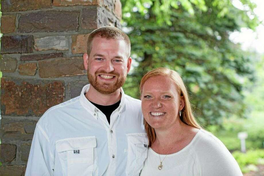 FILE - This undated photo provided by Samaritan's Purse shows Dr. Kent Brantly and his wife, Amber. A spokesperson for the Samaritan's Purse aid organization said that Dr. Kent Brantly, one of the two American aid workers infected with the Ebola virus in Africa, would be released Thursday, Aug. 21, 2014. (AP Photo/Samaritan's Purse) Photo: AP / Samaritan's Purse