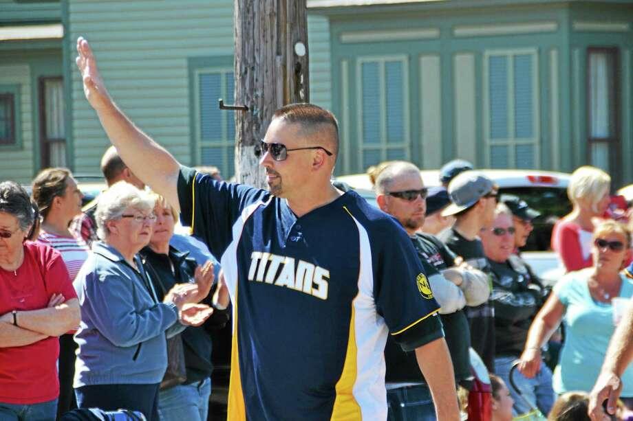 Eddie Gadomski was chosen as this years Register Citizen Sportsman of the Year. Photo: Pete Paguaga — Register Citizen