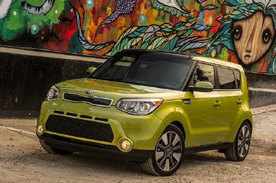 This undated photo made available by Kia shows the 2014 Kia Soul. (AP Photo/Kia) Photo: AP / Kia