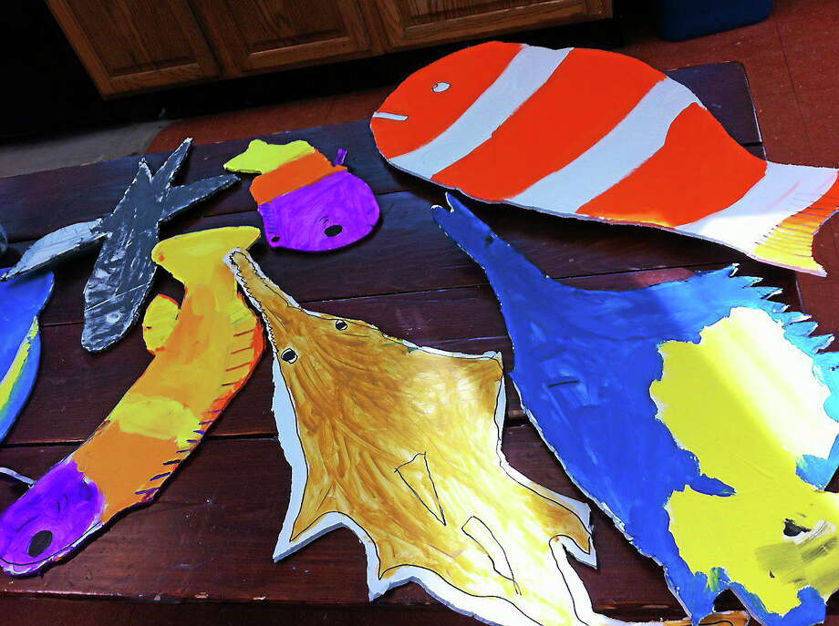 Submitted photos - Montessori School Works by Litchfield Montessori School students will be on display during the month of January at the Oliver Wolcott Library. Photo: Journal Register Co.