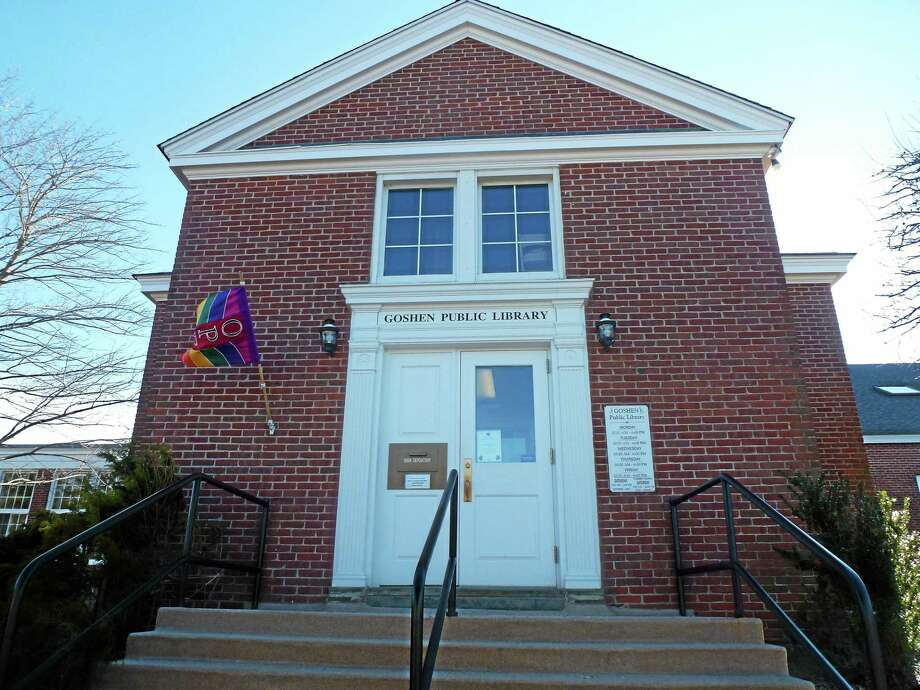 Goshen Public Library is located at 42B North St. It was opened in 1902. Photo: Ryan Flynn—Register Citizen