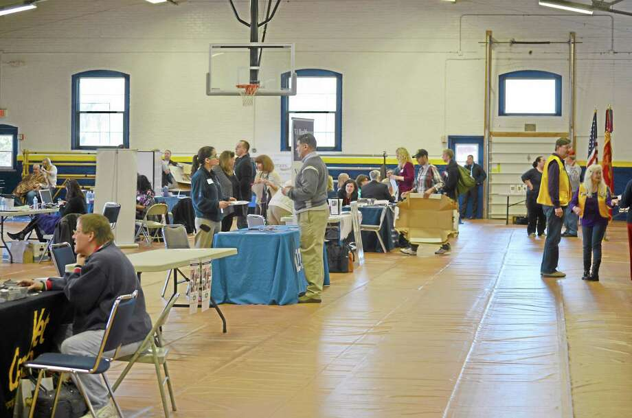 Torrington's Chapter of FISH hosted their second annual Veteran Stand Down at the Armory. Photo: Register Citizen File Photos