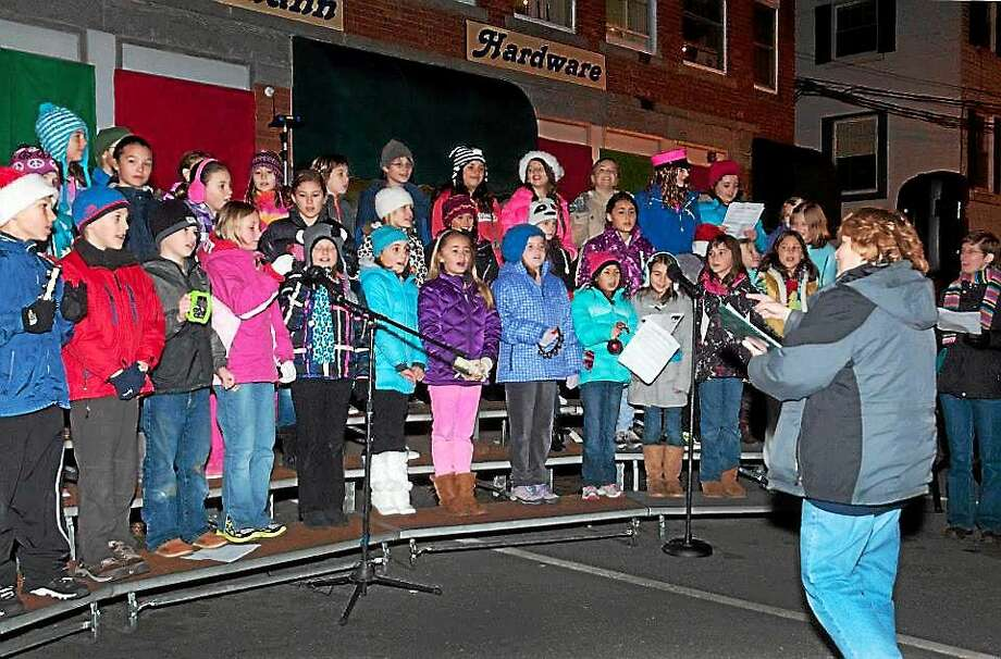 The Ann Antolini Choir performed during last year's Light New Hartford event. Photo: Contributed Photo