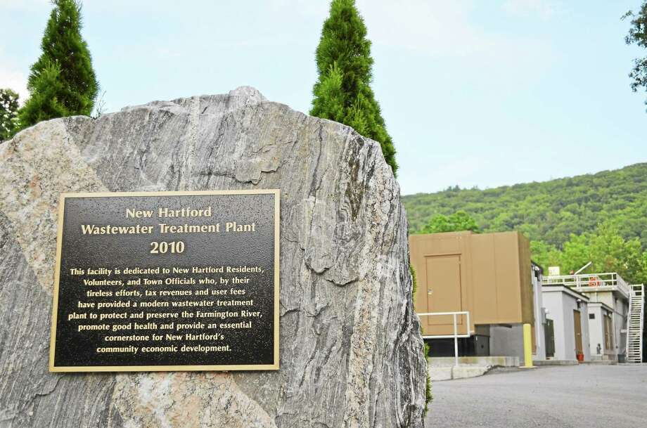 The New Hartford Wastewater Treatment Plant, which sits off of Route 44. Photo: Register Citizen File Photo