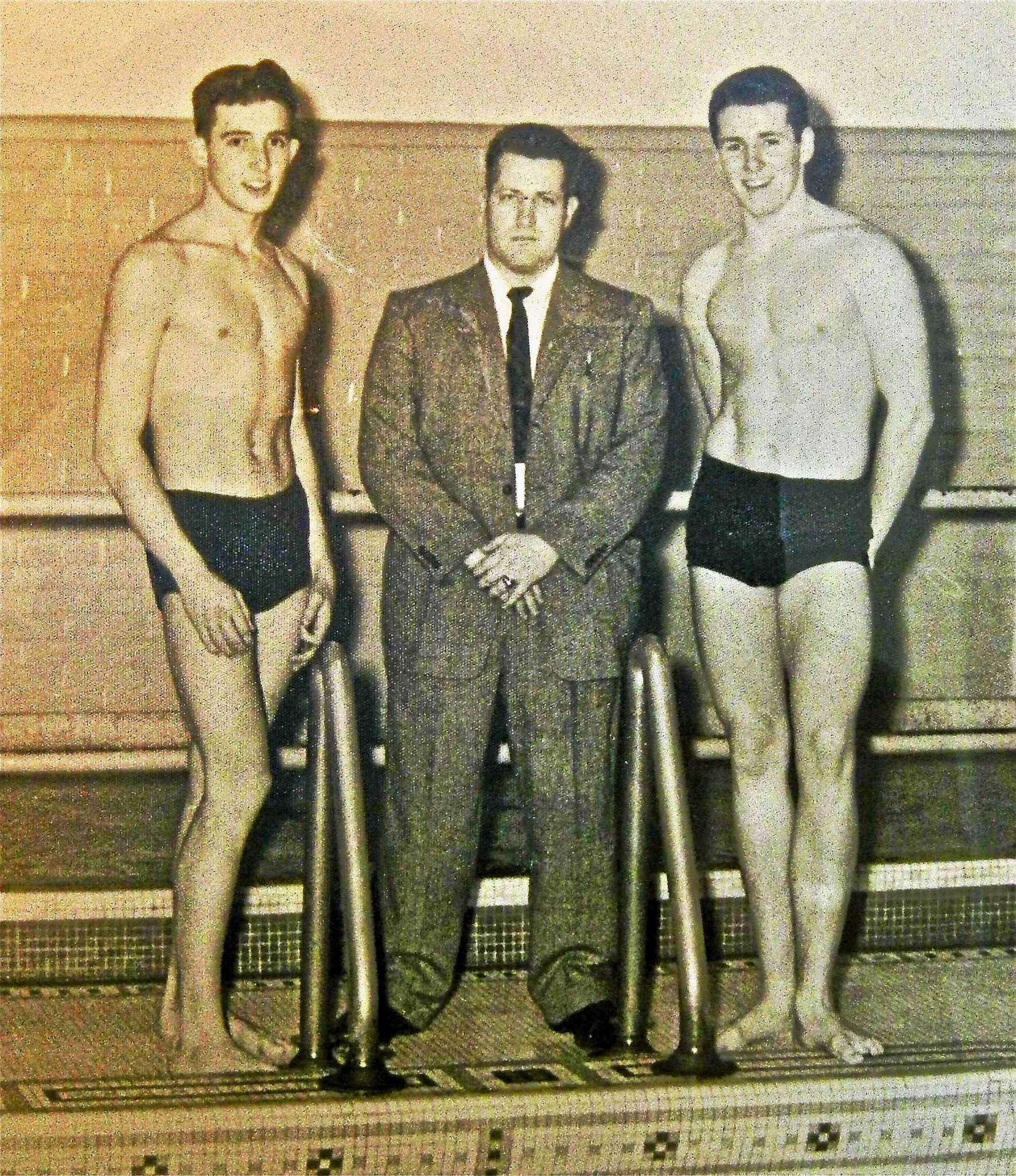 How the very first swim team at THS started