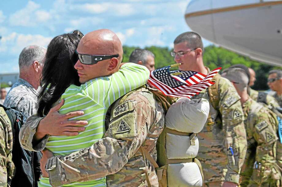 160 National Guard troops, including five from Torrington, return