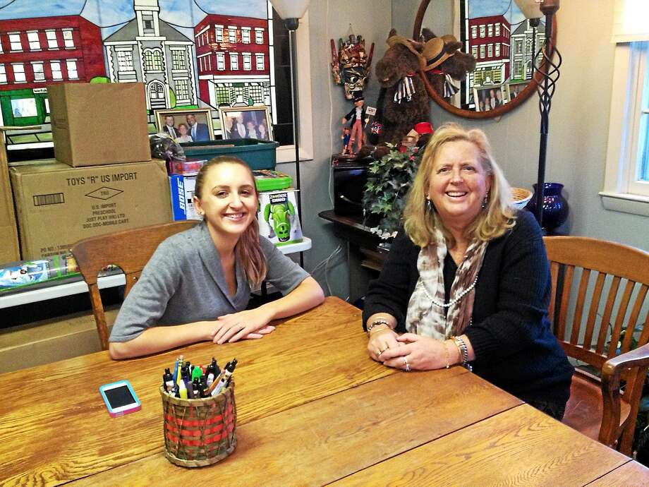 Rose Blondin, who recently graduated from Suffolk University Law School in Boston, has joined her mother Audrey Blondin's law firm in Torrington. Photo: Emily M. Olson — Register Citizen