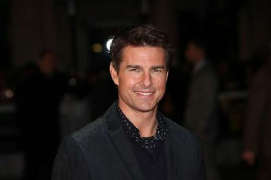"This Dec. 10, 2012 file photo shows actor Tom Cruise at the world premiere of ""Jack Reacher,"" held at the Odeon Leicester Square, in London."