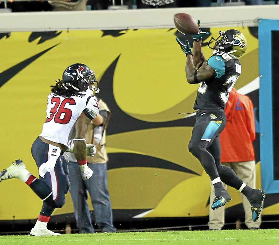 Former UConn running back Jordan Todman could prove to be useful fantasy player this week if Maurice Jones-Drew has to sit out for the Jaguars. Photo: The Associated Press  / The Florida Times-Union