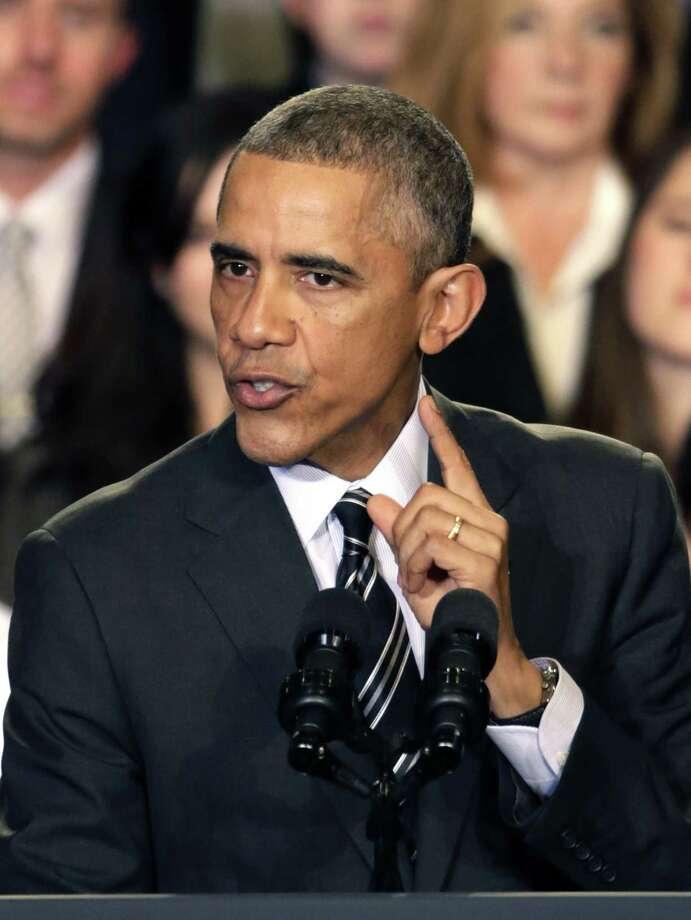 President Barack Obama Photo: Associated Press FILE PHOTO  / AP