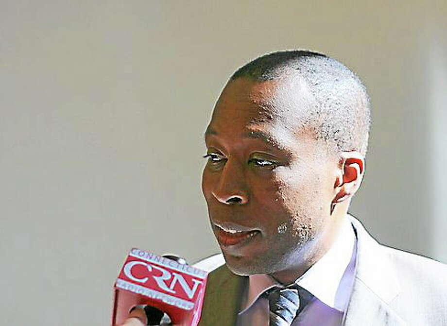 Hamden Mayor Scott Jackson. Photo: Hugh McQuaid — CT News Junkie