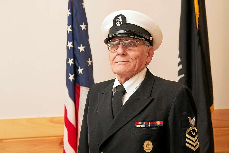 Arthur Melycher served in the U.S. Navy for 22 years, retiring in 1989. His highest rank was as an E-7 Chief Petty Officer. Photo: Contributed Photo  / ALL RIGHTS RESERVED