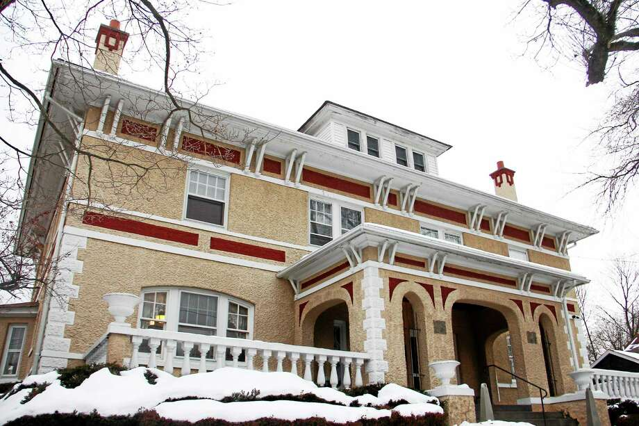 The McCall Foundation building on High Street Friday in Torrington. The substance abuse treatment center is one of many that will try to curb the rise in heroin overdoses in Torrington and the surrounding area. Photo: Esteban L. Hernandez — Register Citizen