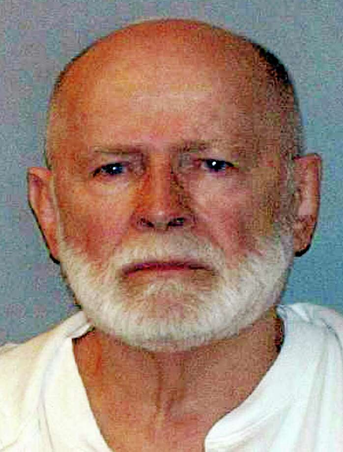 """FILE - This June 23, 2011 file photo shows a booking photo provided by the U.S. Marshals Service shows James """"Whitey"""" Bulger, captured in Santa Monica, Calif., after 16 years on the run. Photo: (AP Photo/U.S. Marshals Service, File) / U.S. Marshals Service/ US Department of Justice"""