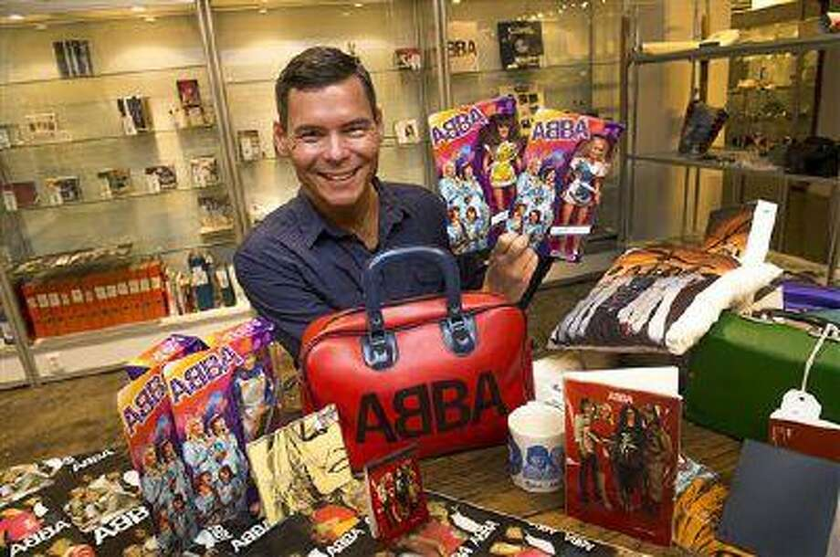 FILE- File photo from June 26, 2013, that shows Tomas Nordin among some of the 25,000 items in his ABBA collection that were sold at Stockholm auction house over the weekend of 10-11 Aug. 2013. Stockholm's Auktionsverk on Monday said the stash of ABBA items sold for 560,000 Swedish kronor ($86,000) (AP photo / Scanpix Sweden /Jonas Ekströmer) ** SWEDEN OUT ** Photo: AP / SCANPIX SWEDEN