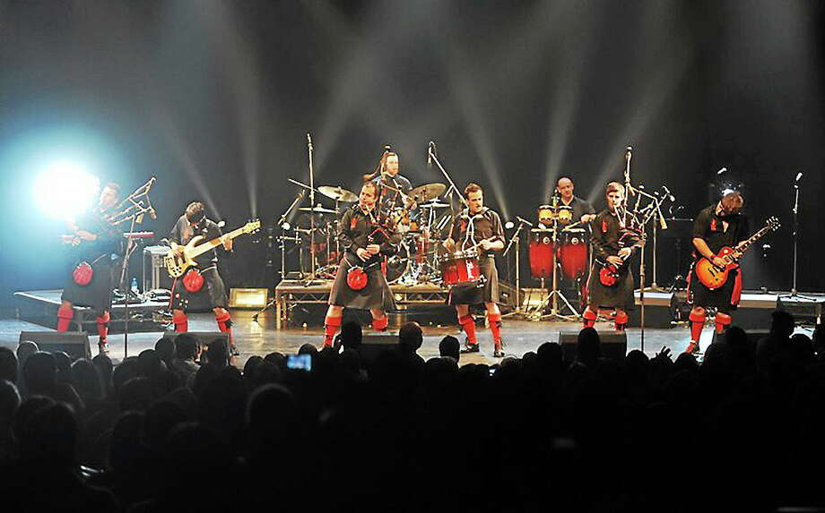 Photo courtesy of Red Hot Chili Pipers The Red Hot Chili Pipers are appearing at the Warner Theatre in September, and tickets are still available for their exciting show. Photo: Journal Register Co. / David Wardle - 07967 824104