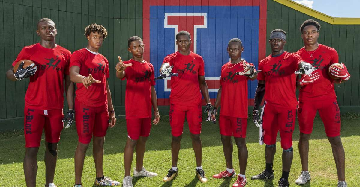PHOTOS: Lamar's defensive backs Lamar Texans defensive back pose for a photograph wearing DB High shirts during a preseason practice on Tuesday August 22, 2017. In the photo from left to right are Anthony Cook, Joseph Wilson, Jalen Emery, Alex Hogan, Quantis Galloway, D'Shawn Jamison, and Zion Burrell. Browse through the photos to see Lamar's current defensive backs.