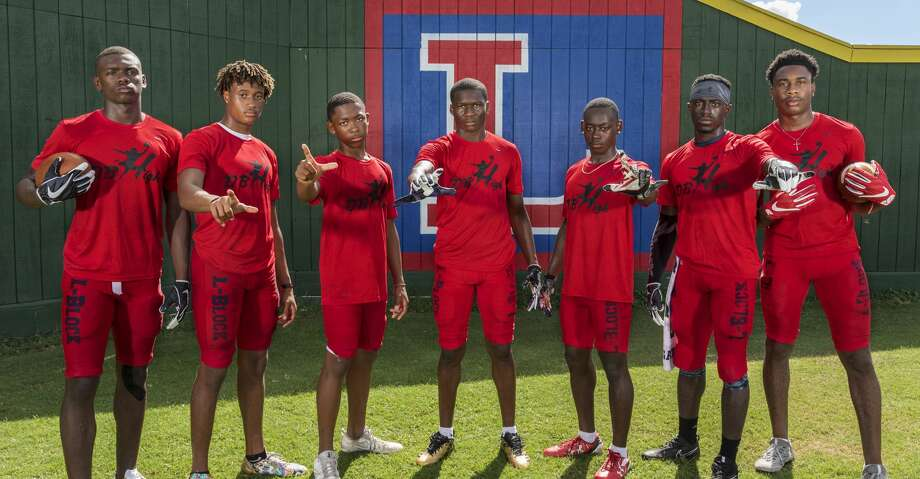 PHOTOS: Lamar's defensive backsLamar Texans defensive back pose for a photograph wearing DB High shirts during a preseason practice on Tuesday August 22, 2017.  In the photo from left to right are Anthony Cook, Joseph Wilson, Jalen Emery, Alex Hogan, Quantis Galloway, D'Shawn Jamison, and Zion Burrell.Browse through the photos to see Lamar's current defensive backs. Photo: Tim Warner/For The Chronicle