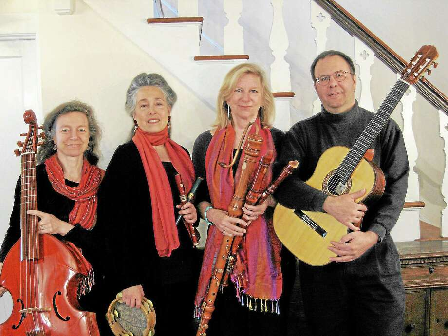 Submitted photo - Wykeham Consort The Wyckham Consort will present an array of beautiful music during its upcoming concert at the Gunn Memorial Library in Washington. Photo: Journal Register Co.