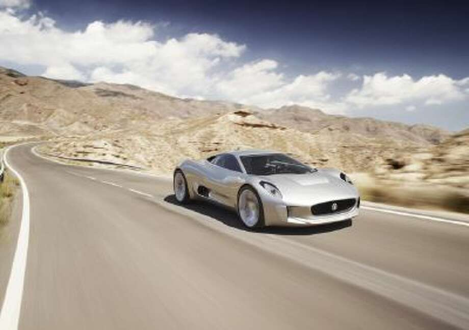 The C-X75 is the ultimate expression of the brand's design and engineering innovation.