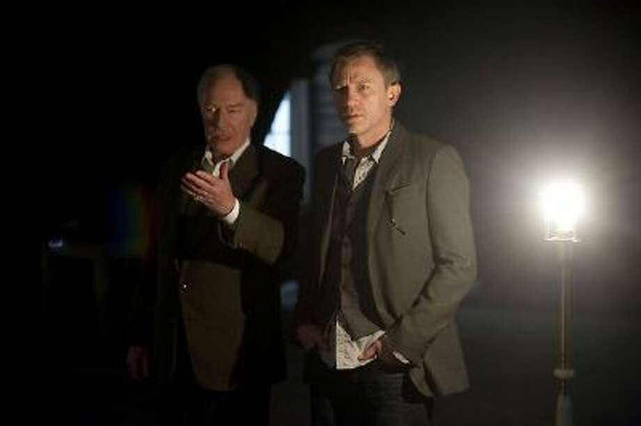 """In this film image released by Sony Pictures, Daniel Craig, right, and Christopher Plummer are shown in a scene from """"The Girl With The Dragon Tattoo."""""""