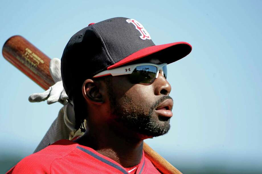 Jackie Bradley Jr. was the only Red Sox regular in Boston's lineup last Thursday against Miami, and that rubbed the Marlins the wrong way. Photo: Steven Senne — The Associated Press  / AP