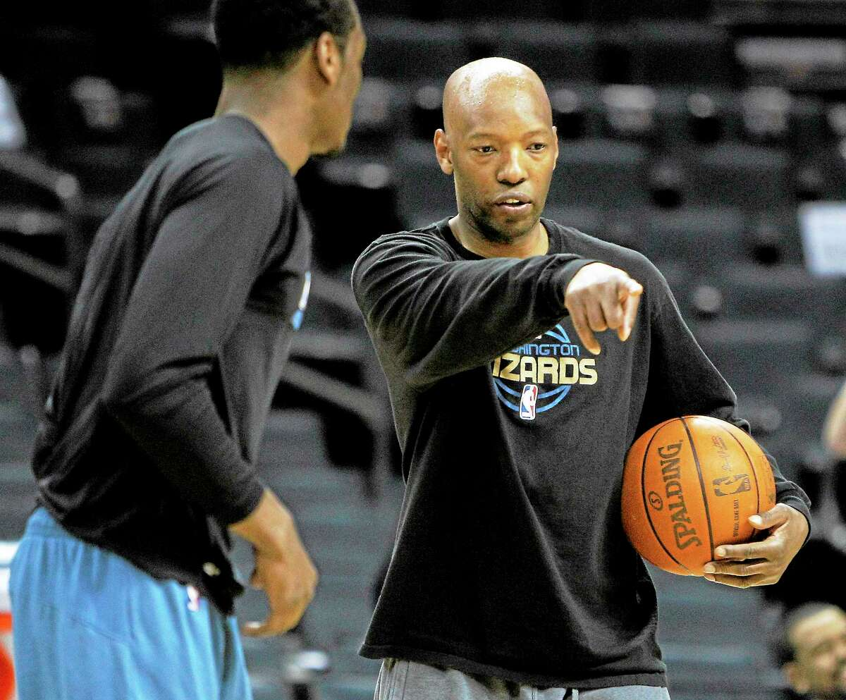 Sam Cassell, currently an assistant coach with the Washington Wizards, will be rooting for UConn in the coming years after his son committed to play for the Huskies.