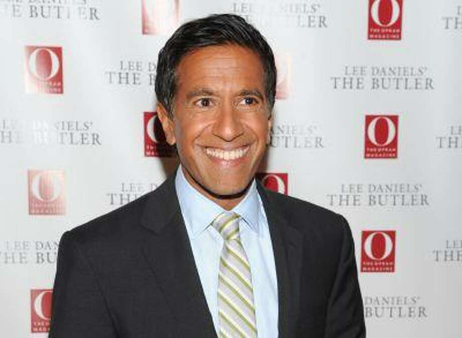 """Dr. Sanjay Gupta, pictured in this July 31 file photo, detailed his change of heart in an interview Friday and in an article for CNN's website titled, """"Why I changed my mind on weed."""" He will narrate a documentary on the topic that will air on the network Sunday. Photo: Evan Agostini/Invision/AP / Invision"""