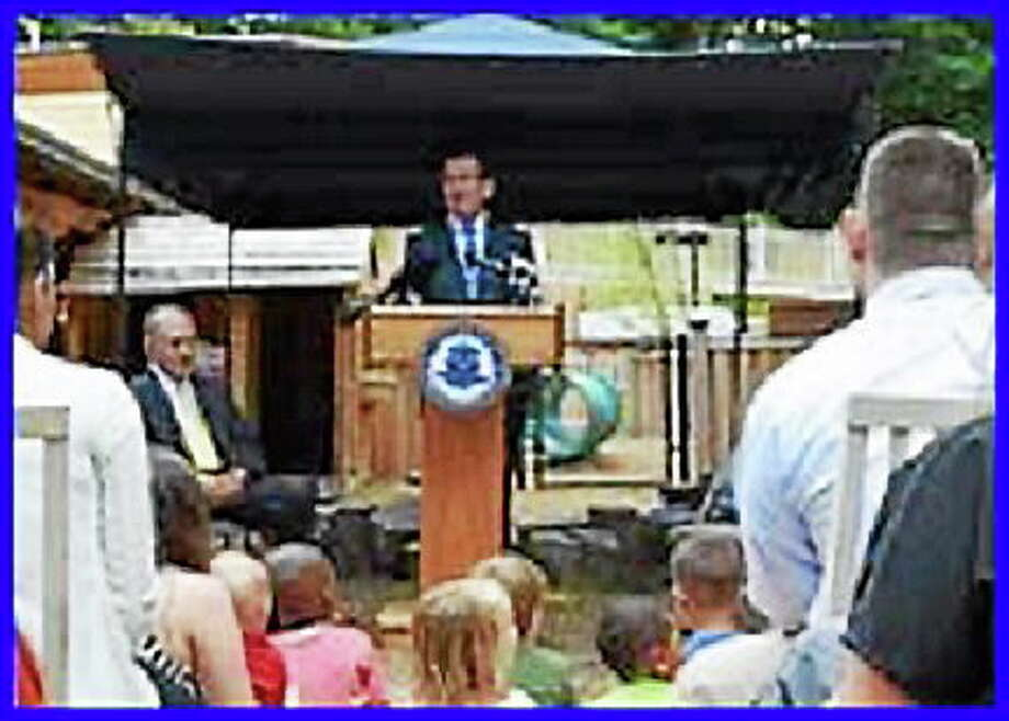 Gov. Dannel P. Malloy announces launch of CHET college savings program. Photo: Contributed Photo