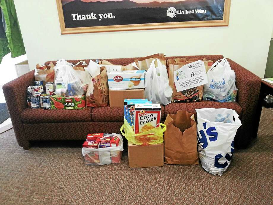 Items collected by Charlotte Hungerford Hospital as of March 6. Photo: Submitted Photo