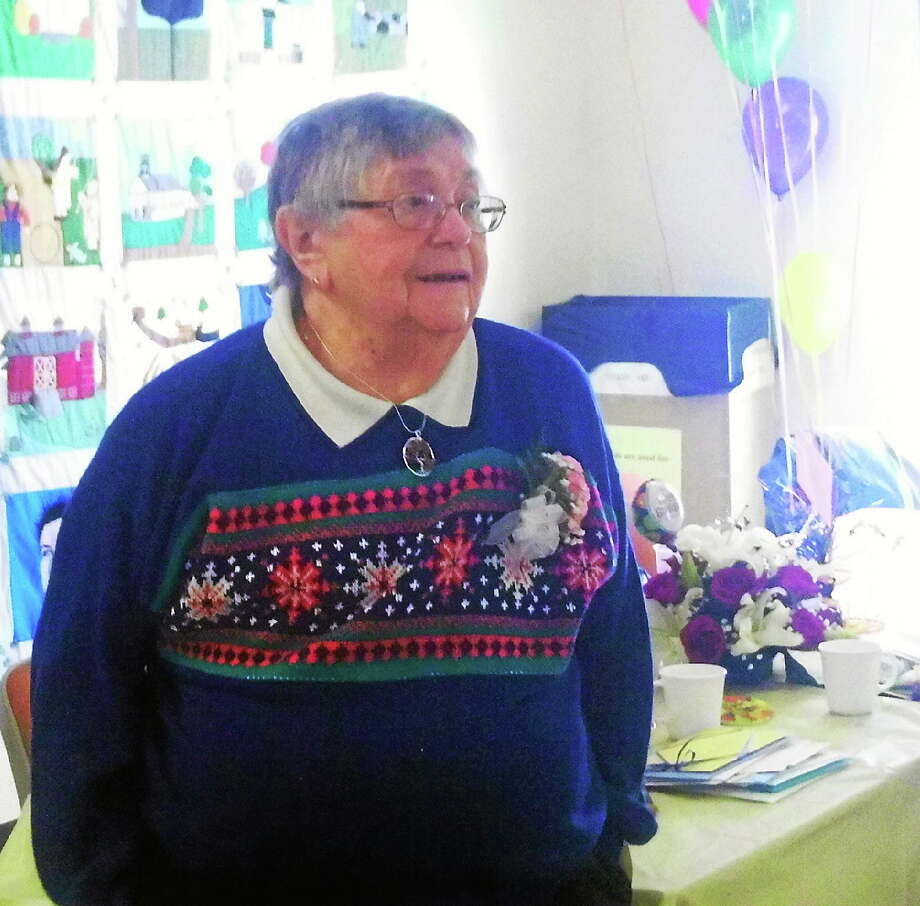 """Elizabeth """"Bette"""" Schear celebrated her 90th birthday Sunday.  Submitted Photo. Photo: Journal Register Co."""