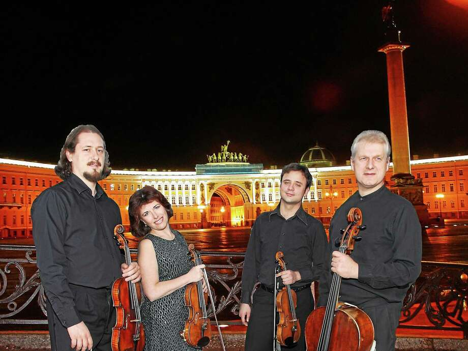 Submitted photo- St. Petersburg String Quartet The St. Petersburg String Quartet are playing Music Mountain this month, along with a lively roster of performers ranging from classical to jazz. Photo: Journal Register Co.