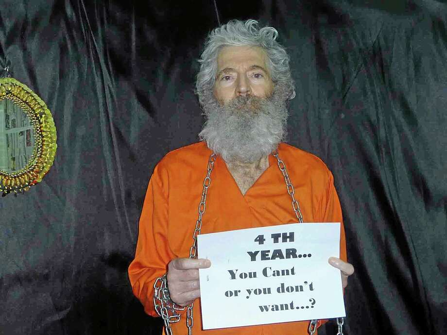 This undated handout photo provided by the family of Robert Levinson after they received it in April 2011, shows retired-FBI agent Robert Levinson. In March 2007, Levinson flew to Kish Island, an Iranian resort awash with tourists, smuggler and organized crime figures. Days later after a meeting with an admitted killer, he vanished. For years the U.S. has publicly described him as a private citizen who was traveling on private business. However, an Associated Press investigation reveals that Levinson was working for the CIA. (AP Photo/Levinson Family) Photo: AP / Levinson Family