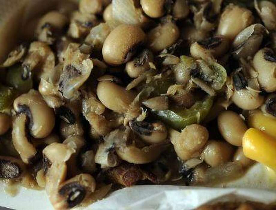 A Southern favorite for New Year's Day: black-eyed peas. Photo: DP / Copyright - 2013 The Denver Post, MediaNews Group.