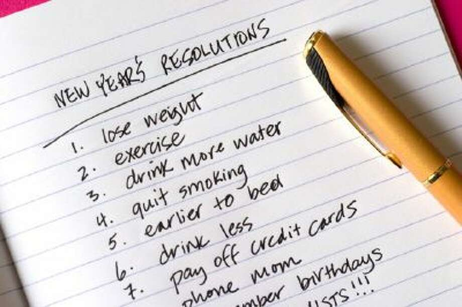 According to statistics published last year by the University of Scranton, about 45 percent of Americans usually make New Year's resolution. Of those who make resolutions, a mere 8 percent achieve them.